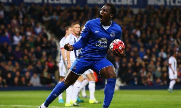 L'attaccante dell'Everton, Lukaku
