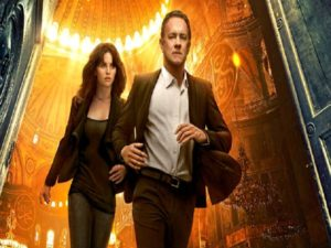 "Tom Hanks e Felicity Jones in ""Inferno"""