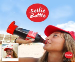 "Ecco la ""selfie bottle"""