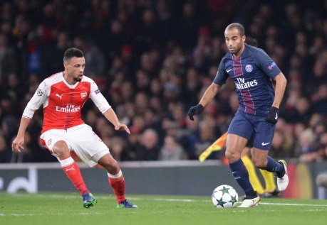 Champions League: Arsenal e Psg appaiate in testa al gruppo A