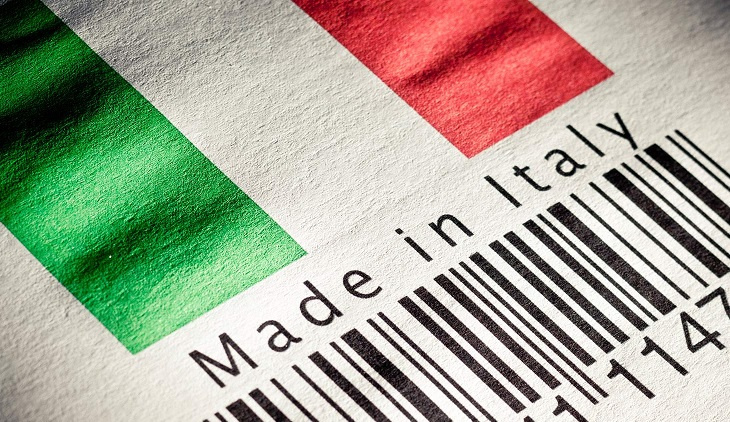 made in italy saldo commerciale
