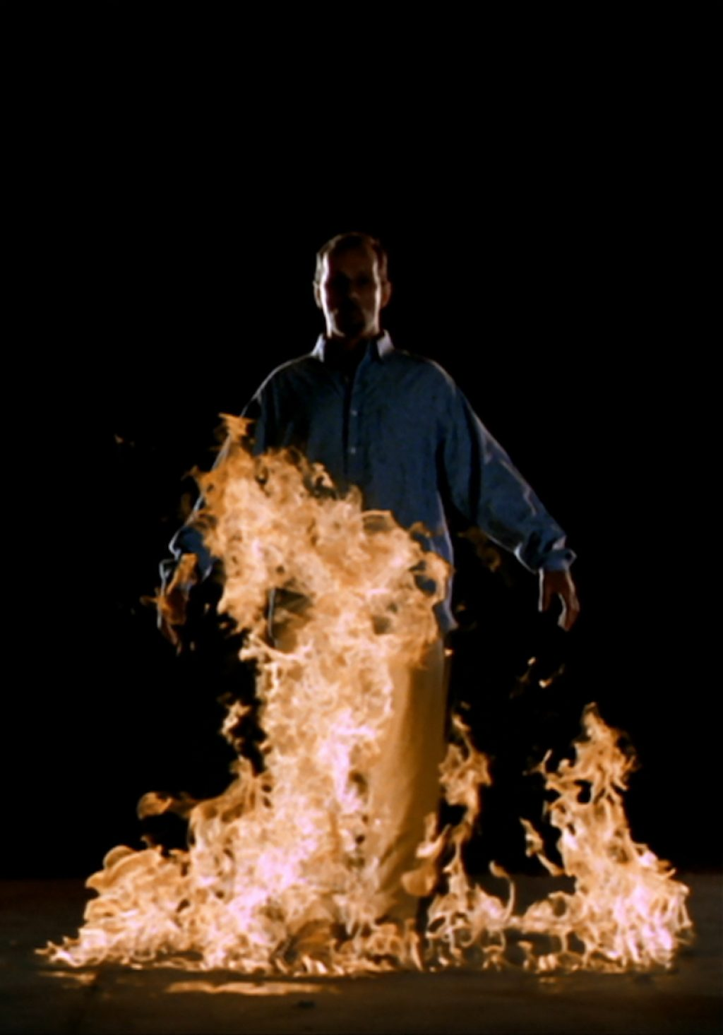 Bill Viola, The crossing fire