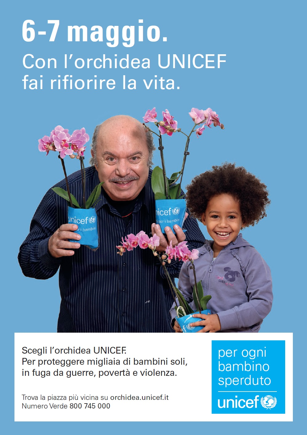 l'orchidea unicef