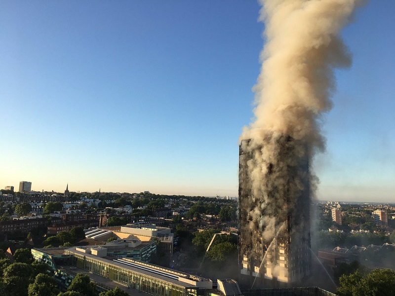 incendio grenfell tower londra