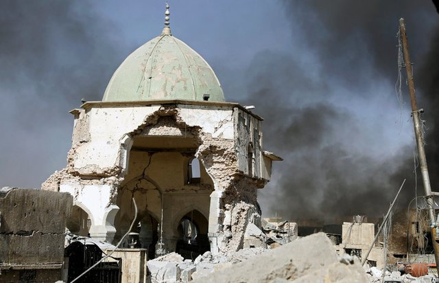 mosul moschea iraq isis