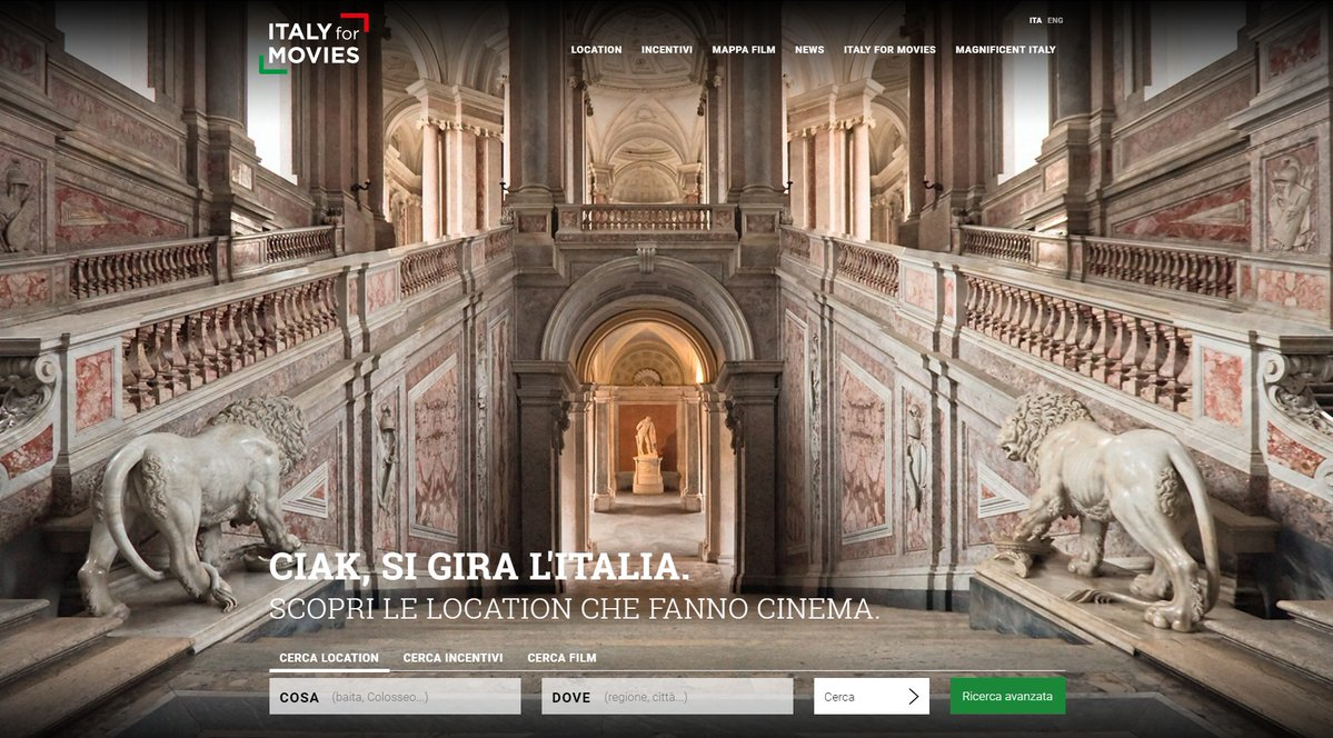 italy for movies portale location film cinema
