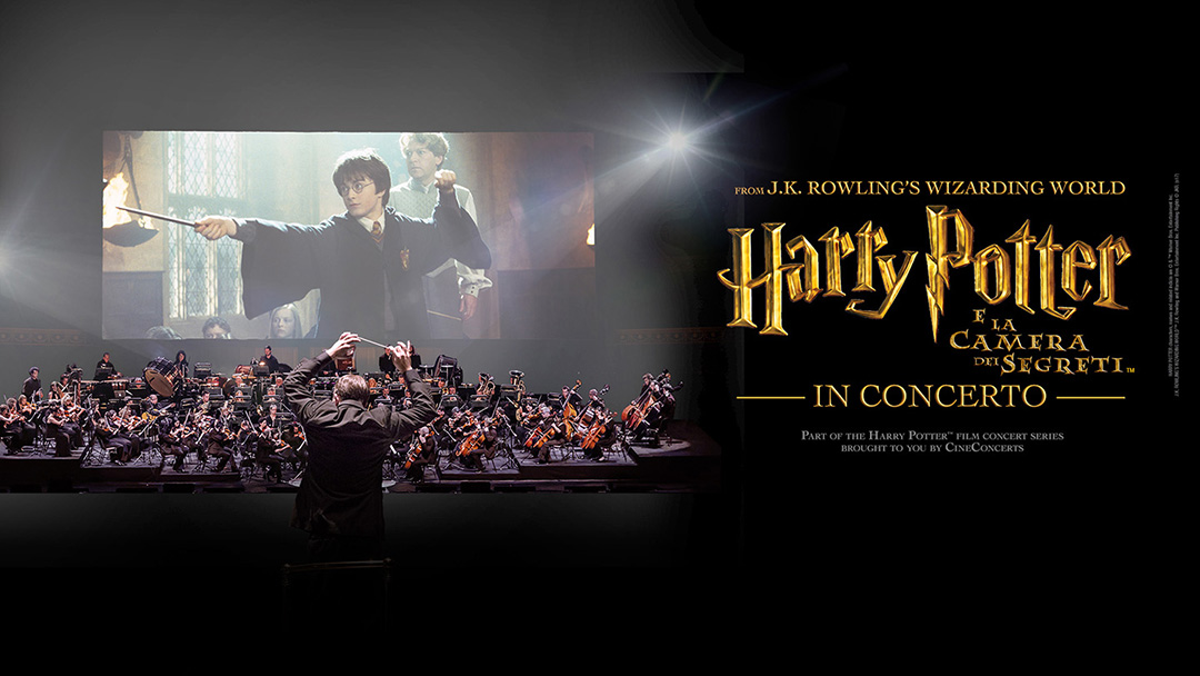 harry potter e la camera dei segreti concerto biglietti