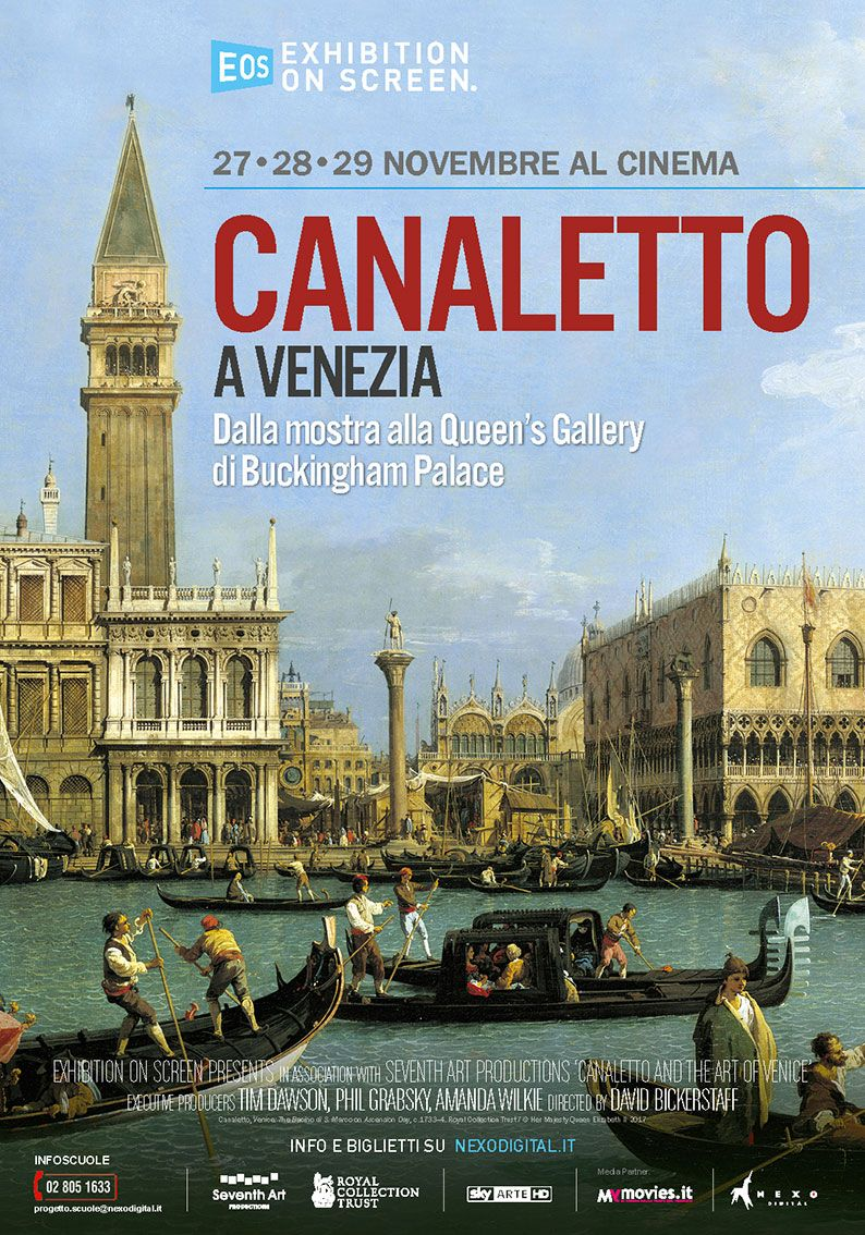 canaletto a venezia film cinema novembre 2017