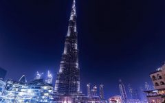 Luci del Burj Khalifa in vendita per beneficenza