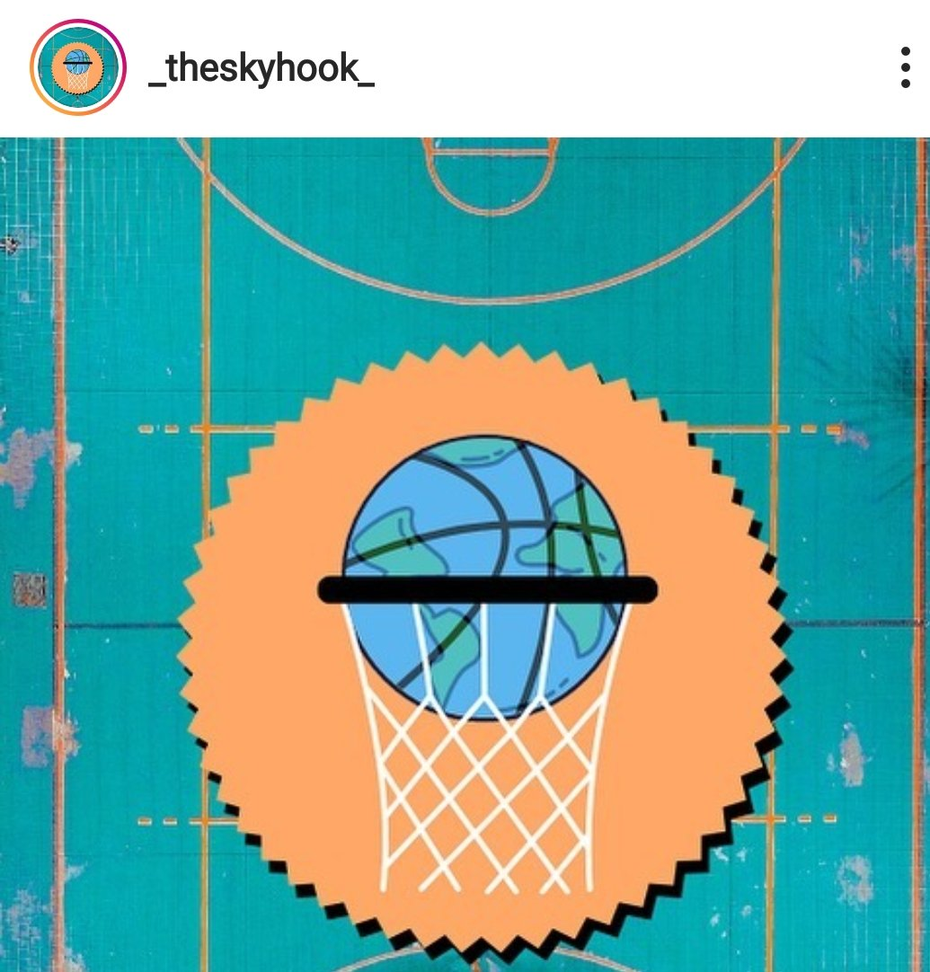 The Skyhook, storie di basket su Instagram