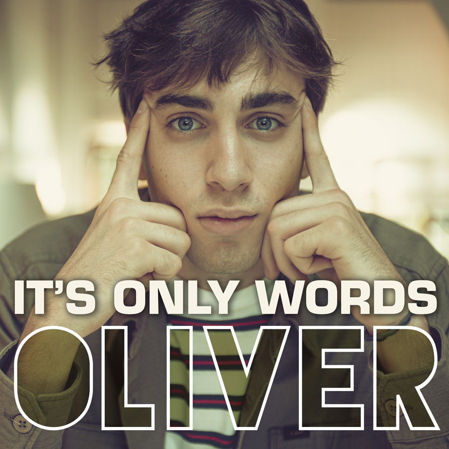 """Oliver in radio con il singolo """"It's only words"""""""
