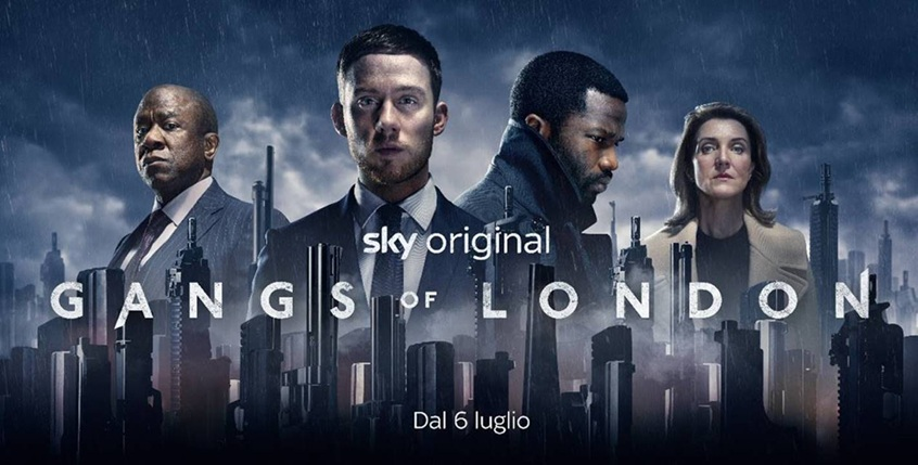 Gangs of London disponibile dal 6 luglio su Sky e Now Tv