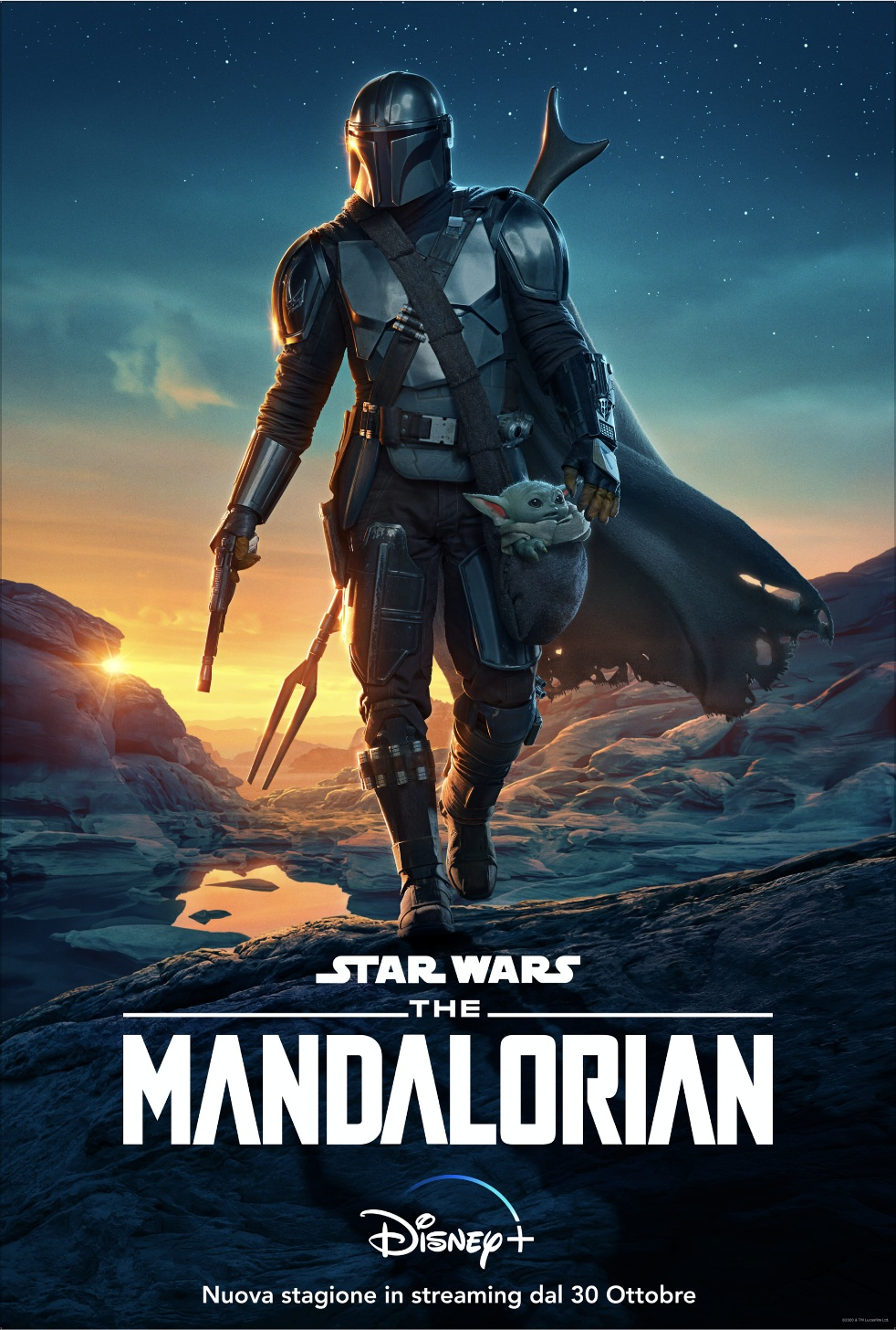 The Mandalorian 2 in streaming dal 30 ottobre