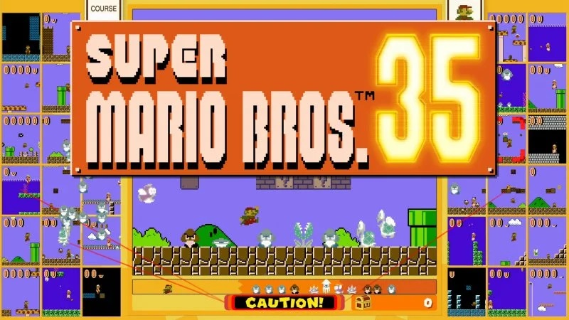 Super Mario Bros. 35, Nintendo lancia battle royale ufficiale: il gioco è disponibile in download gratuito fino al 31 marzo