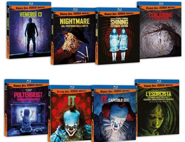 Warner Bros. Horror Maniacs, ecco i nuovi titoli in home video