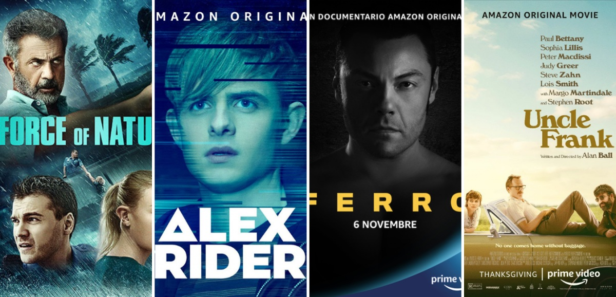 Amazon Prime Video: i titoli di Novembre