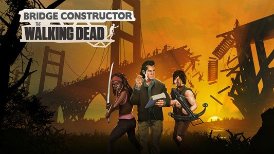 Bridge Constructor: The Walking Dead arriva per Pc e console