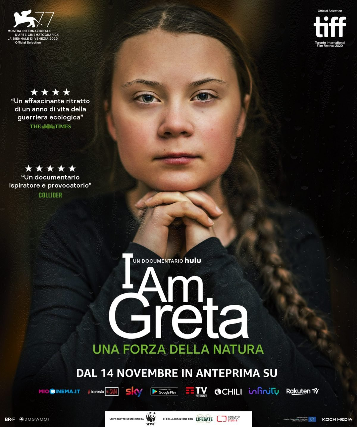 I Am Greta esce il 14 novembre in streaming