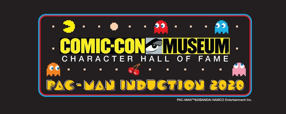 Pac-Man entra nella Hall of Fame del Comic-Con Museum