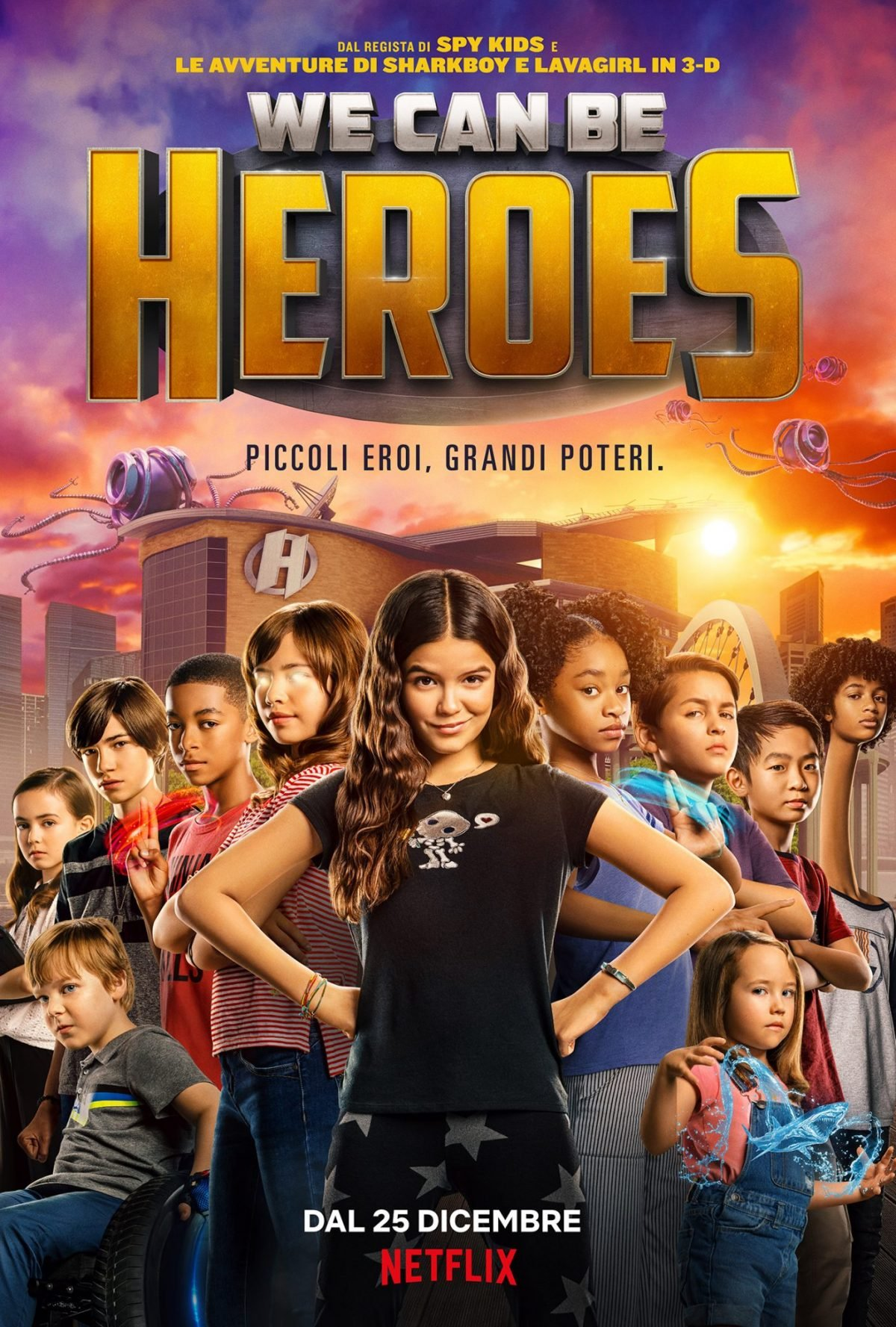 We Can Be Heroes è arrivato su Netflix