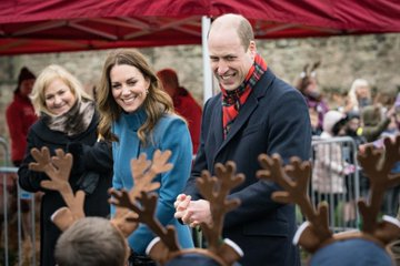 William e Kate in tour con il Royal Train