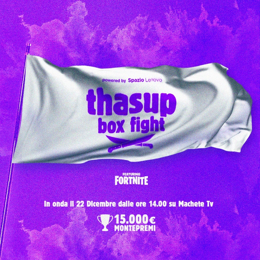 "Fortnite: tha Supreme organizza il torneo ""thasup box fight"""