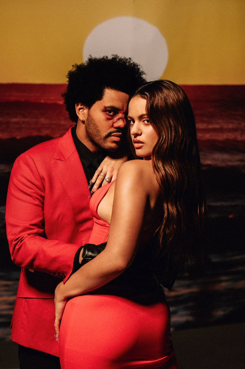 "The Weeknd e Rosalía insieme in ""Blinding Lights Rmx"""