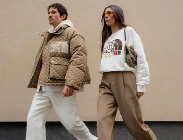 Attori Netflix pazzi per la linea The North Face X Gucci
