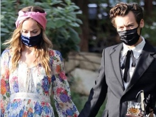 Harry Styles fa coppia con Olivia Wilde