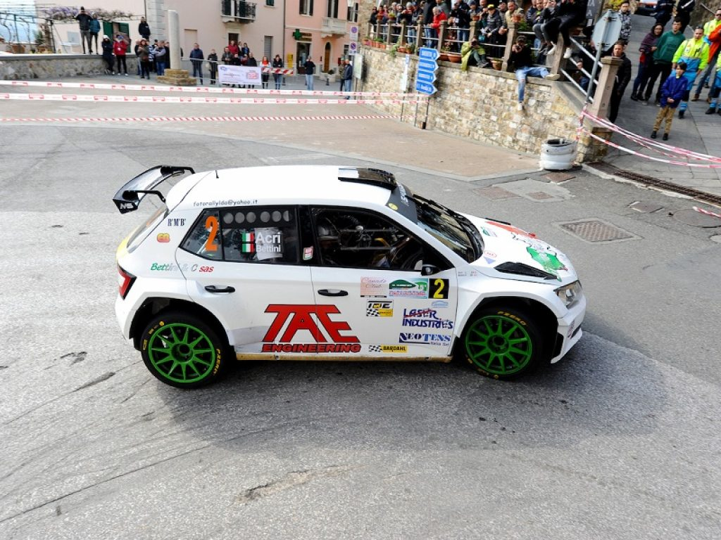 Bettini al Rally Colline Metallifere e Valdicornia