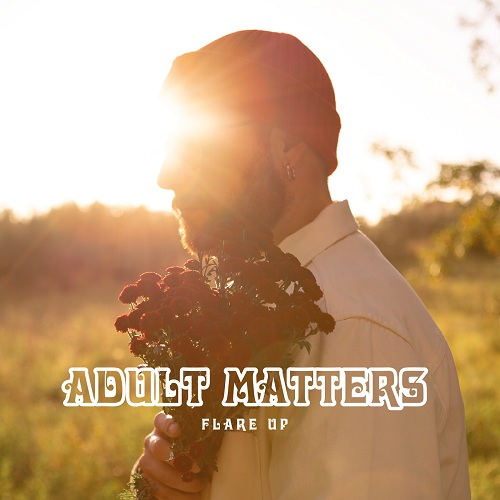 Cover Flare Up disco di Adult Matters, musica