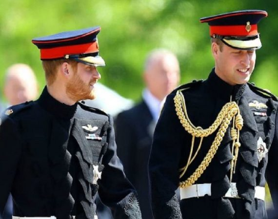 Harry e William funerali principe Filippo