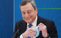 Mario Draghi interviene sulla SuperLega