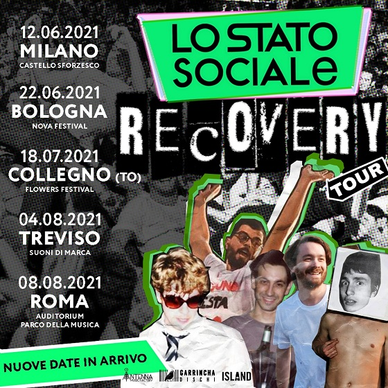 Recovery tour