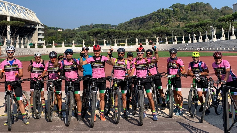 bike riding for parkinson italy