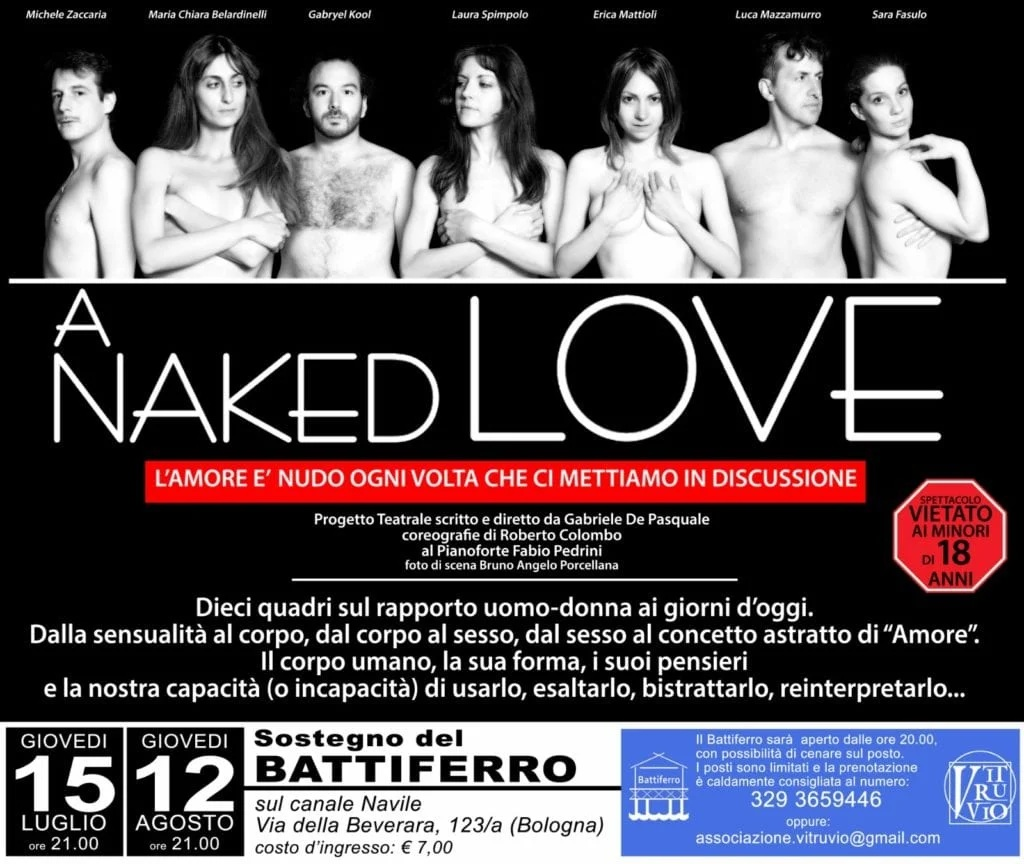 A naked love in scena a Bologna