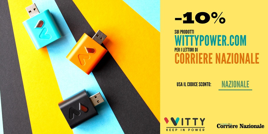 banner sconto witty